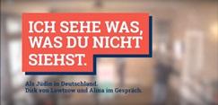#sowhat Aktionswochen gegen Antisemitismus - Als Jüdin in Deutschland
