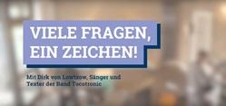 #sowhat Aktionswochen gegen Antisemitismus - Dirk von Lowtzow im Interview