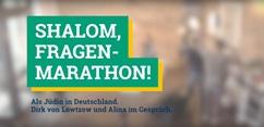#sowhat Aktionswochen gegen Antisemitismus - Shalom, Fragen-Marathon!