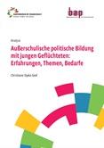 Außerschulische politische Bildung mit jungen Geflüchteten: Erfahrungen, Themen, Bedarfe