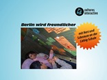 Berlin wird freundlicher mit Herz und Schnauze an der Liebig-Schule