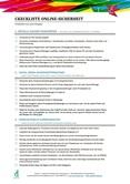 Checkliste Online-Sicherheit