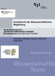 """Kurzbericht der Wissenschaftlichen Begleitung des Bundesprogramms """"INITIATIVE DEMOKRATIE STÄRKEN"""". Berichtszeitraum 01.01.2011 bis 31.12.2011"""