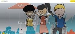 Demokratie und Vielfalt in der Kindertagesbetreuung