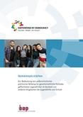 Gemeinsam stärker. Zur Bedeutung von außerschulischer politischer Bildung für gesellschaftliche Teilhabe geflüchteter Jugendlicher im Kontext von anderen Angeboten der Jugendhilfe und Schule