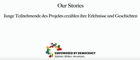 EMPOWERED BY DEMOCRACY: Our Stories