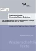 """Ergebnisbericht der Wissenschaftlichen Begleitung des Bundesprogramms """"Initiative Demokratie stärken"""". Berichtszeitraum 01.01.2013 -31.12.2013"""