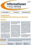 Informationen der Mobilen Beratung für Opfer rechter Gewalt. Winter 2012. Nr. 40