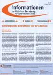 Informationen der Mobilen Beratung für Opfer rechter Gewalt Nr. 37 Frühjahr 2012