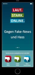 LAUT. STARK. ONLINE. Gegen Fake-News und Hass