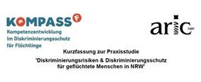 Kurzfassung zur Praxisstudie 'Diskriminierungsrisiken & Diskriminierungsschutz für geflüchtete Menschen in NRW'