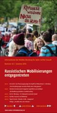 Informationen der mobilen Beratung für Opfer rechter Gewalt. Nummer 46. Sommer 2014. Rassistische Mobilisierungen entgegentreten