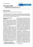 """mobim-analysen, 02/2009 Nationaler Sozialismus. Hintergründe der """"Krise"""" und Lösungswege aus Sicht der extremen Rechten"""