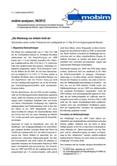 """mobim-analysen, 06/2012 """"Die Stimmung war einfach nicht da"""" Abschneiden extrem rechter Parteien bei der Landtagswahl am 13.Mai 2012 im Regierungsbezirk Münster"""