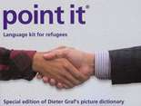 point it. Language kit for refugees