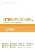 Interventionen. Zeitschrift für Verantwortungspädagogik.  Schwerpunkt Salafismus
