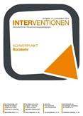 Interventionen. Zeitschrift für Verantwortungspädagogik. Ausgabe 12 Dezember 2018. Schwerpunkt Rückkehr